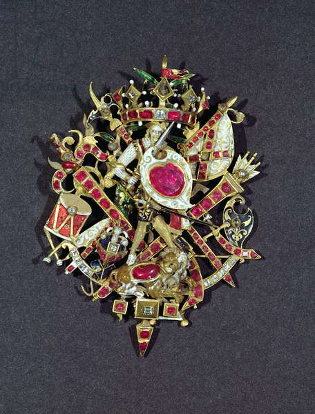 The Naseby Jewel, commemorating the Battle of Naseby in 1645