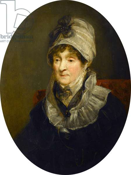 Portrait of a Lady (Mrs Parry, the Mother of Sir W.E. Parry, RN), c.1824 (oil on panel)