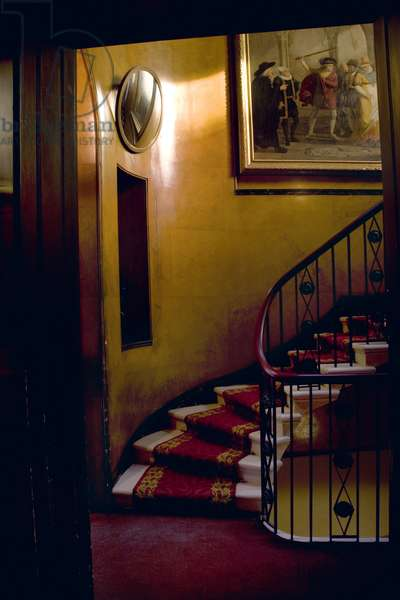 The staircase, Sir John Soane's Museum, London (photo)