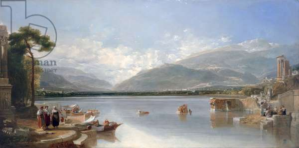 The Passage Point, 1829 (oil on canvas)