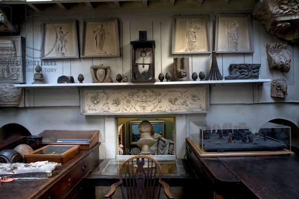 The Students' Room, Sir John Soane's Museum, London (photo)
