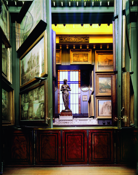 The Picture Room, Sir John Soane's Museum, London (photo)