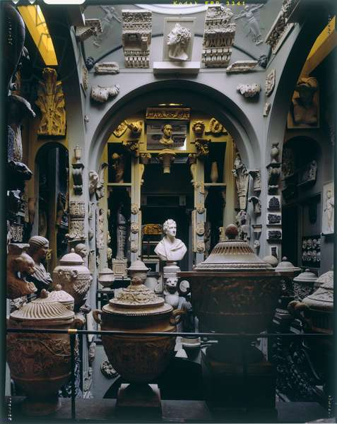 View of the Interior, The Dome,  Sir John Soane's Museum, London (photo)