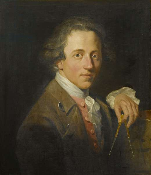 Portrait of a Young Artist (John Soane), 1776 (oil on canvas)