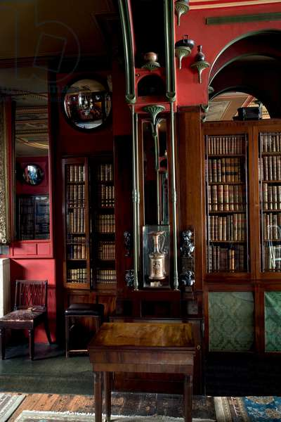 Detail of a pier in the Library-Dining Room, Sir John Soane's Museum, London (photo)