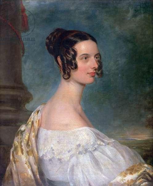 Catherine Gandy, née Hyde, c.1837-38 (oil on canvas)