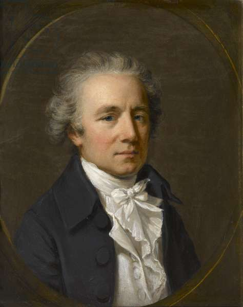 Nathaniel Marchant, RA, c.1780 (oil on wood)