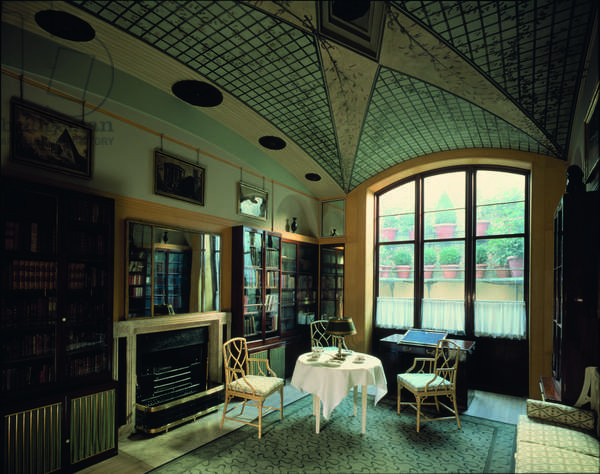 The Breakfast Room, No. 12 Lincoln's Inn Fields, Sir John Soane's Museum, London (photo)