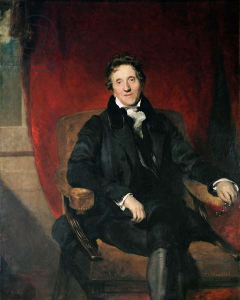 Portrait of Sir John Soane (1753-1837) 1829 (oil on canvas)
