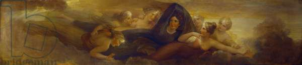 Night, with the Pleiades, 1834 (oil on mahogany panel)