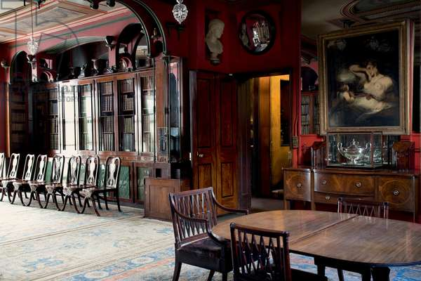The Library-Dining Room, Sir John Soane Museum, London (photo)