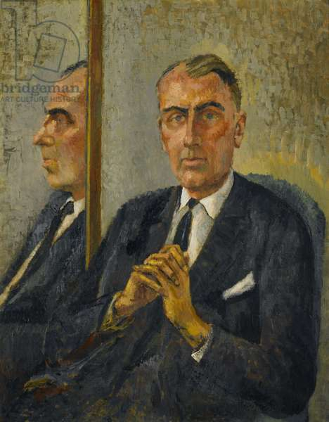 Sir John Summerson, 1964 (oil on canvas)