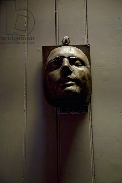 A life mask of Sarah Siddons, Sir John Soane's Museum, London (photo)