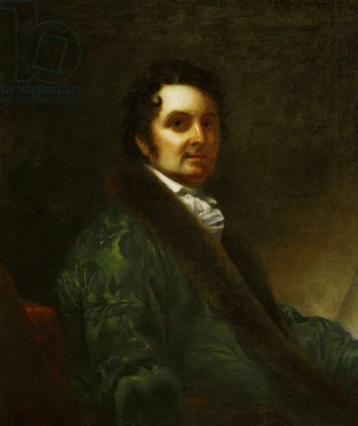 Joseph Michael Gandy, c.1822 (oil on canvas)