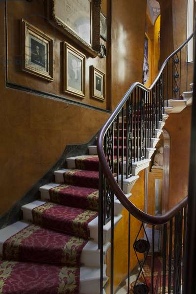 The Shakespeare Recess on the landing off the main staircase, Sir John Soane's Museum, London (photo)