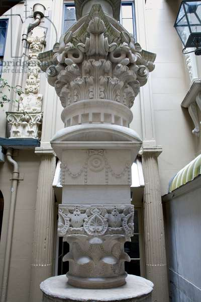 The Pasticcio in the Monument Court, Sir John Soane's Museum, London (photo)