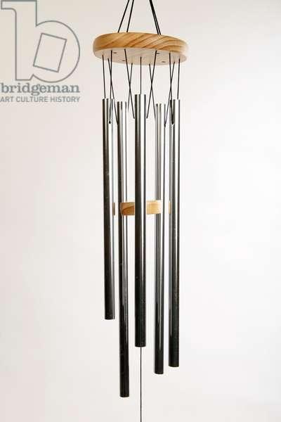 set of tenor or bass aluminium metal wind chimes (photo)