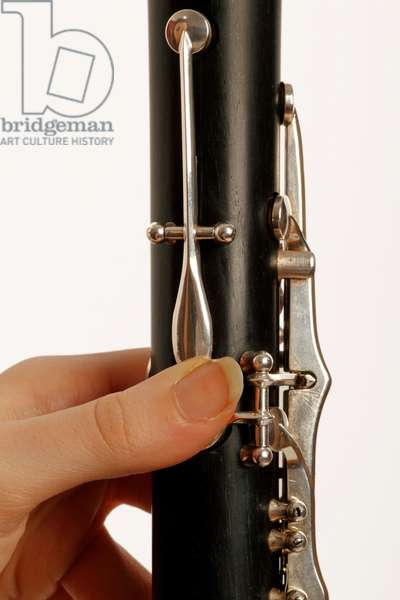 B flat clarinet player