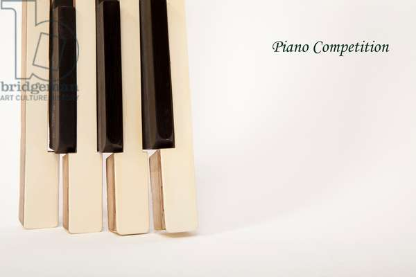 Graphic image of Piano keys / Piano competition - generic