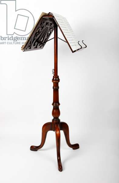 Antique or Vintage Wooden Duet Music Stand