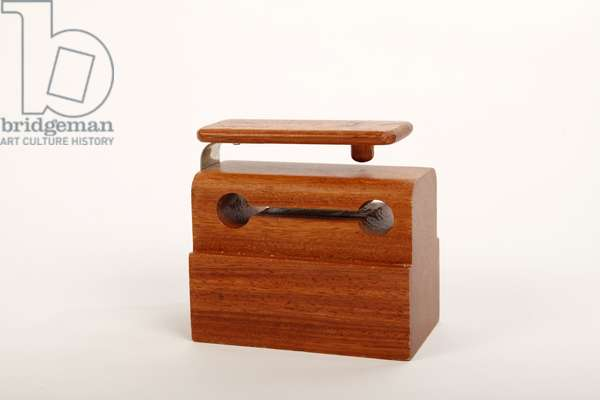 Piccolo rosewood hardwood wood block. Percussion instrument. (photo)