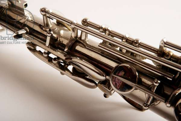 Alto saxophone - close-up