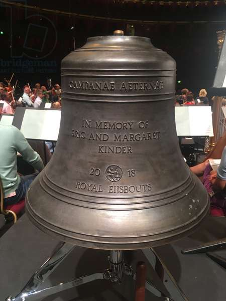 Church bell made by Royal Eijsbouts foundry, used in an orchestra as a percussion instrument. (photo)