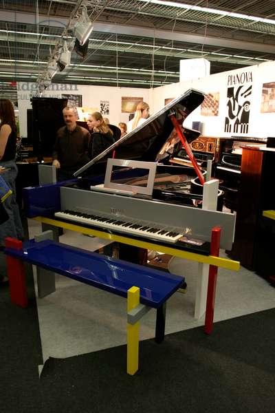 Avant-garde grand piano by
