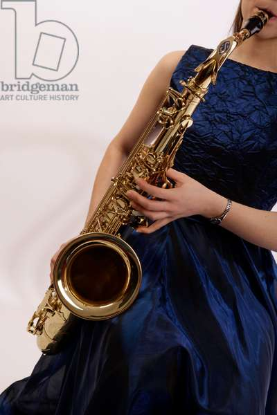 Close up detail of Tenor Saxophone by Selmer