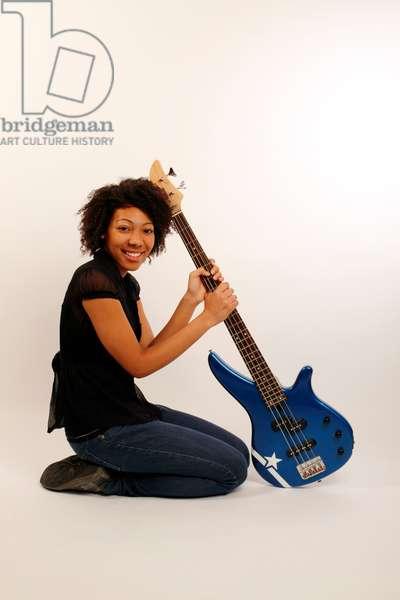 bass guitarist, bass guitar