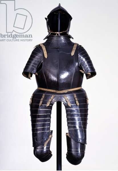 Riding Armour made for Elector Johann Friedrich the Magnanimous (1503-54) Elector of Saxony, 1500-50 (metal)
