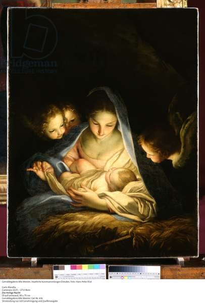 Holy Night (oil on canvas)