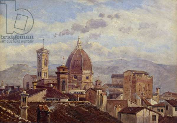 View of Florence, 1841 (oil on canvas)