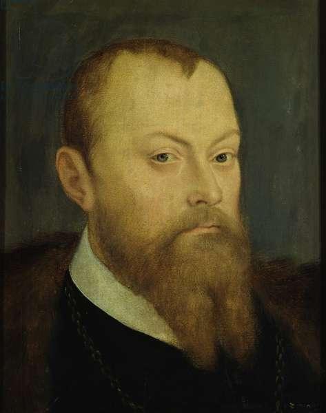 Elector Moritz von Sachsen (1521-53), c.1550 (oil on panel)