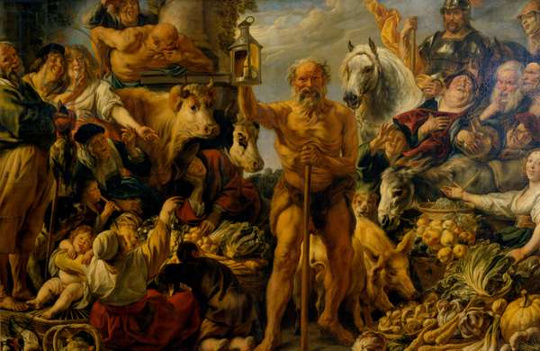 Diogenes with the lantern, c.1642 (oil on canvas)