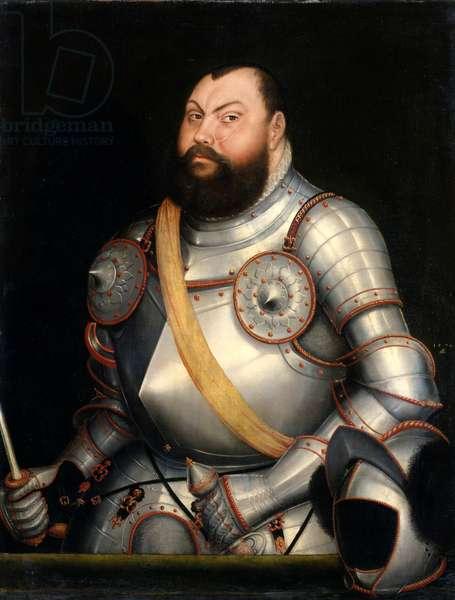 Elector Johann Friedrich the Magnanimous (1503-54) Elector of Saxony, 1578 (oil on canvas)