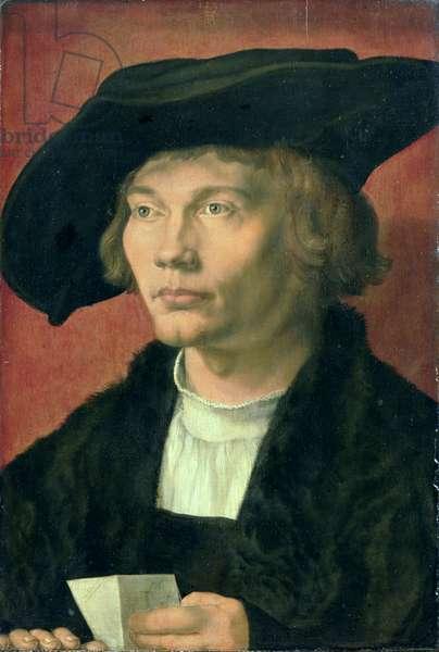 Portrait of Bernhard von Reesen (1491-1521) 1521 (oil on panel)