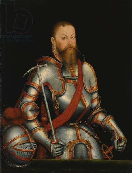 Elector Moritz von Sachsen (1521-53) 1578 (oil on panel)