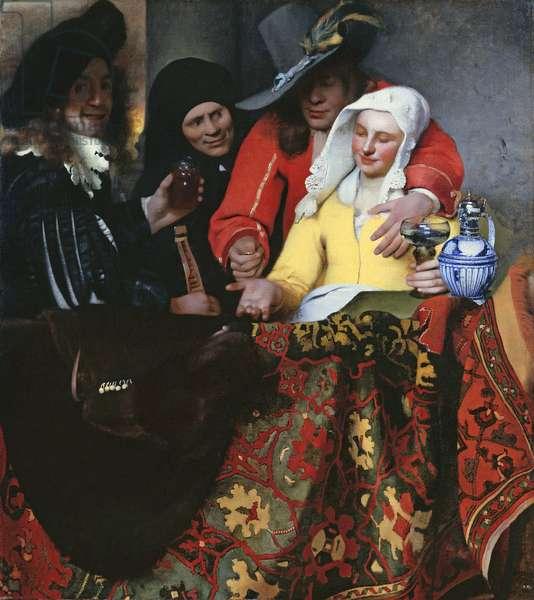 The Procuress, 1656 (oil on canvas)