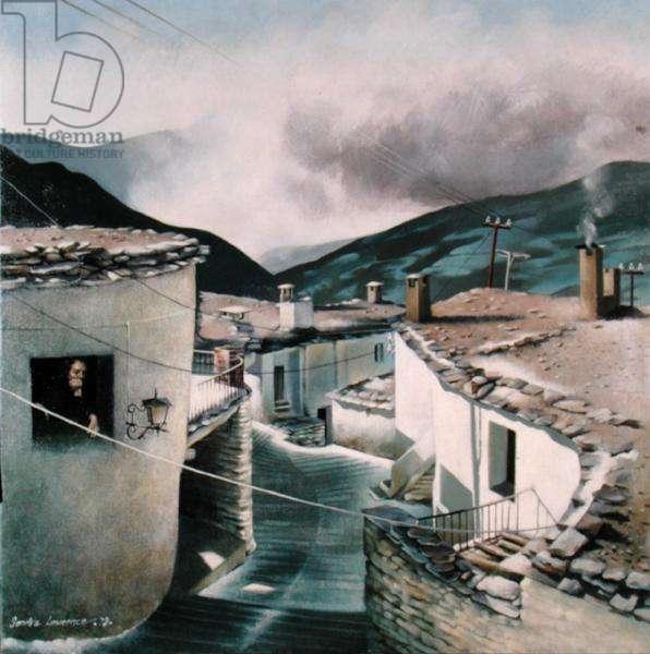 Capileira, 1978 (acrylic on canvas)