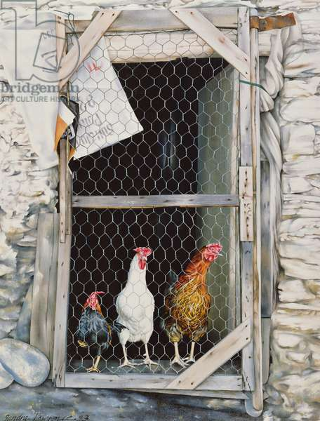 Capileiran Clutch, 1983 (oil on canvas)
