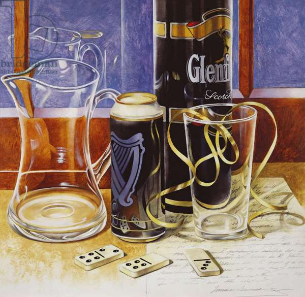 Glenfiddich, 1999 (oil on canvas)