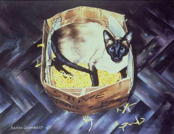 Mustdi 1983 (oil on canvas)