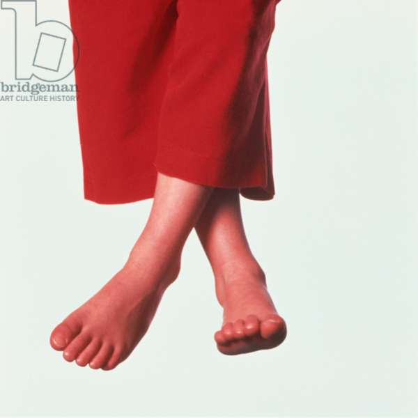 Feet in Red Trousers (photo)
