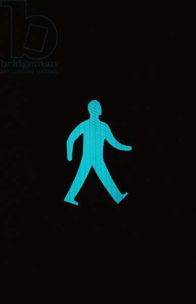 Green Man Crossing (photo)