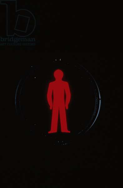 Red Man on Traffic Light