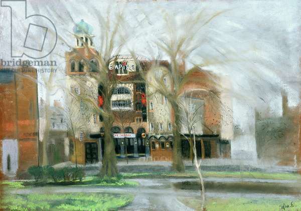 Shepherd's Bush Empire (pastel on paper)