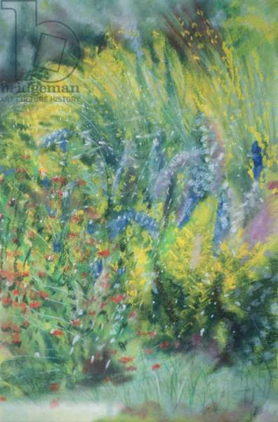 Wild Flowers (pastel on paper)