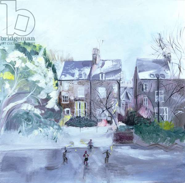 November in Coverdale Road, 2007 (oil on canvas)