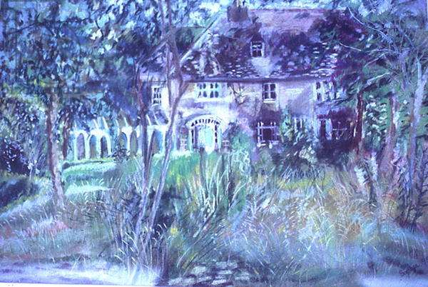 Glynlins Estate, 1995 (pastel on paper)